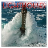 2019 TF Publishing 7 X 7 Lighthouses Mini Calendar (19-2098)
