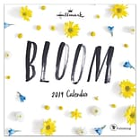 2019 TF Publishing 7 x 7 Bloom By Hallmark Mini Calendar (19-2144)