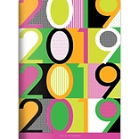 2019 TFI Publishing 7.5 X 10.25 Color Pop Monthly Planner (19-4281)
