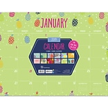 2019 TF Publishing 22 X 17 Monthly Theme Desk Pad Calendar (19-8024)