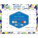 2019 TF Publishing 22 X 17 Art Of Hallmark Desk Pad Calendar (19-8145)