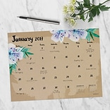 2019 TF Publishing 12 X 9 Floral Mini Desk Pad Calendar (19-8599)