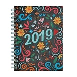 2019 TFI Publishing 6.25 X 8 Chalk Medium Weekly Monthly Planner (19-9152)