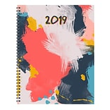 TFI Publishing 2019 Abstract Large Weekly Monthly Planner 9 X 11 (19-9715)