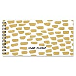 2019 TF Publishing 8.5 X 4 Gold Dots Daily Agenda (99-5724)