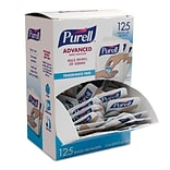 PURELL® Advanced Hand Sanitizer Singles, 125/Box (9630-12-125CTNS)