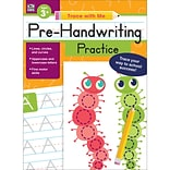 Pre-Handwriting Practice (Trace with Me), Paperback,  Ages 3+ (705218)