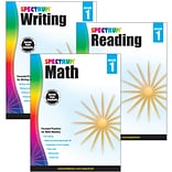 Spectrum® 1st Grade Focused Practice Set for Writing, Reading and Math, 3/Set (745039)