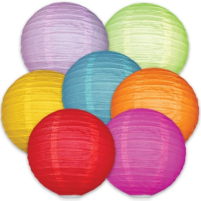 Colorful Lanterns, 7/Pack (107003)