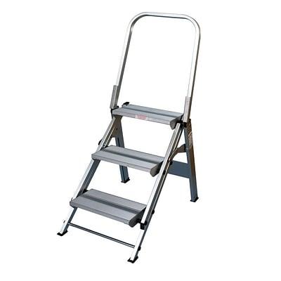 Amazing Xtend Climb Stablestep 3 Step Folding Stool Aluminum Ibusinesslaw Wood Chair Design Ideas Ibusinesslaworg