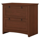 Bush Furniture Buena Vista 2 Drawer Lateral File Cabinet, Serene Cherry (MY13680-03)