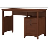 Bush Furniture Buena Vista Computer Desk with Drawers, Serene Cherry (MY13623-03)