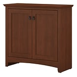 Bush Furniture Buena Vista Small Storage Cabinet with Doors, Serene Cherry (MY13696-03)
