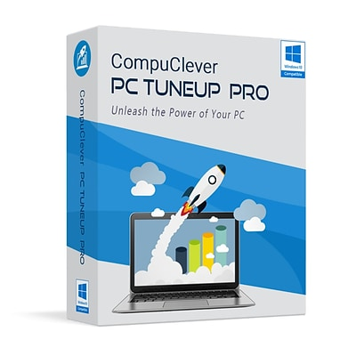 CompuClever PC TuneUp Pro 2 Year License for 3 Users, Windows, Download (CCPCTUP-3-2)