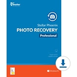 Stellar Phoenix Photo Recovery Professional for 1 User, Windows,, Download (SPPRPROV82018)