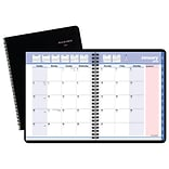 AT-A-GLANCE® QuickNotes® City of Hope Monthly Planner, 12 Months, January Start, 6 7/8 x 8 3/4, Bl