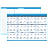AT-A-GLANCE® Horizontal Erasable Wall Calendar, 12 Months, Reversible for Planning Space, 48 x 32