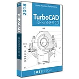 IMSI TurboCAD TurboCAD Designer 2018 for 1 User, Windows, Download (00TDE525XX)