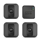 Amazon Blink XT Home Security Camera System 3 Pack, Black (B071YPNMN1)
