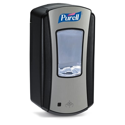 GOJO® PURELL® LTX-12™ Dispenser, Chrome/Black