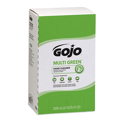Gojo PRO 2000  Multi Green  Hand Cleaner Refill, Citrus, 2000 ml, 4/Case