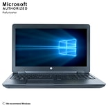 HP ZBook 15 Mobile Workstation, 15.6 Inch,  Laptop, Intel Core i7-4800MQ, 8GB DDR3L, 240GB SSD, Refu