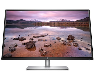 "HP 32s 2UD96AA#ABA 31.5"" LED Monitor, Silver/Black"