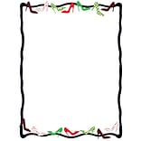 Great Papers!® Dancing Heels Holiday Letterhead, 8.5 x 11, 80 sheets (2018021)