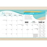 2019 Brown Trout 14 x 10  Seaside Manor Monthly Academic Desk Pad Calendar (9781975404390)