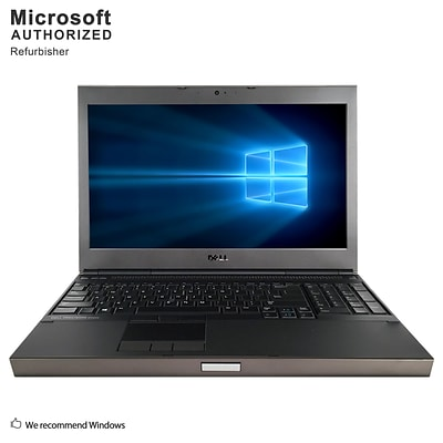 Dell Precision M4600 15.6 Refurbished Laptop, Intel Core i7-2720QM 2.2GHz, 8GB Memory, 500GB HD