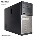Dell OptiPlex 790 Desktop Computer, Intel Core i7-2600, 2TB HDD, Tower, Refurbished