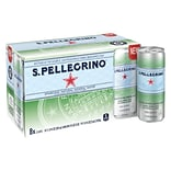 San Pellegrino Sparkling Mineral Water, 11.15 oz. Cans (Pack of 8)
