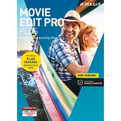 Magix Movie Edit Pro Plus for 1 User, Windows, Download (ANR008575ESD)