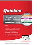 Quicken Home & Business 2019 for 1 User, Windows, Download (0170239)