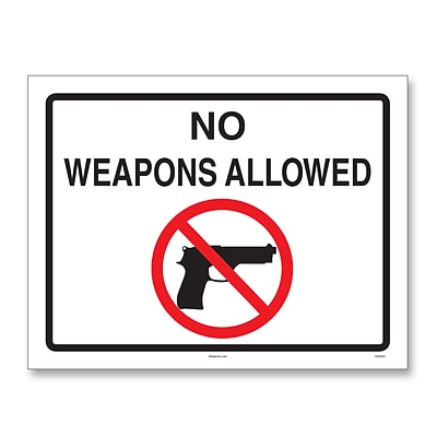 ComplyRight™ Weapons Law Posters, Ohio (E8077OH)