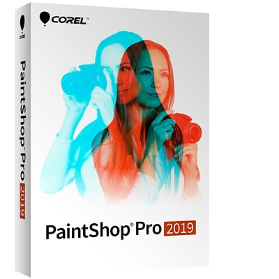 Corel PaintShop Pro 2019 for 1 User, Windows, Download (ESDPSP2019ML)