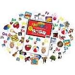 Barker Creek Learning Magnets® A-Z Letters with Pictures, 60/Pack (LM1150)