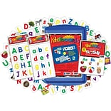 Barker Creek Learning Magnets® Now I Know My ABCs Kit, 137 Piece Set (LM2403)