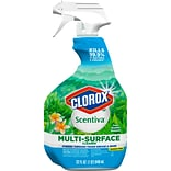 Clorox Scentiva Multi-Surface Cleaner - Fresh Brazilian Blossoms, 32 Ounce Spray Bottle (31831)