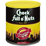 Chock full o Nuts® Original Roast Ground Coffee, Regular, 30.5 oz. Can