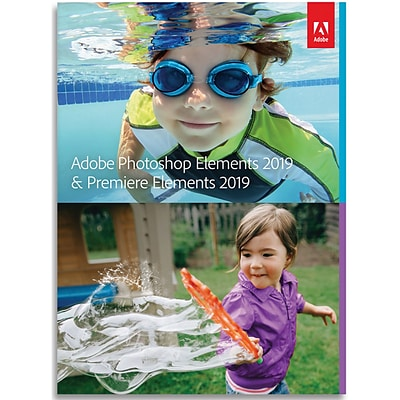 Adobe Photoshop Elements 2019 & Premiere Elements 2019 for 1 User, Windows, Download (65295914)