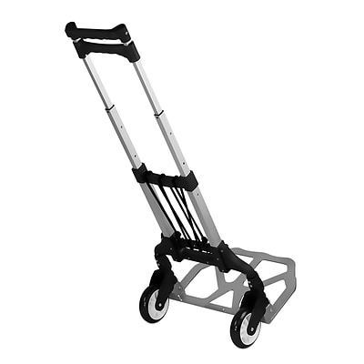 Mount It Folding Hand Truck And Dolly 165 Lb Capacity Quill Com