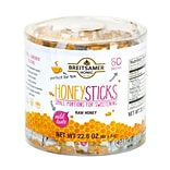 Breitsamer Honig Raw Honey Sticks, .28 oz., 80/Pack (209-02630)