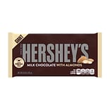 Hersheys Giant Milk Chocolate Candy Bar with Almonds, 6.8 oz., 3/Pack (246-00357)