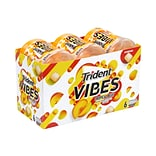 Trident Vibes Sugar Free Tropical Beat Gum, 40 Pieces/Pack, 6/Pack (304-00081)