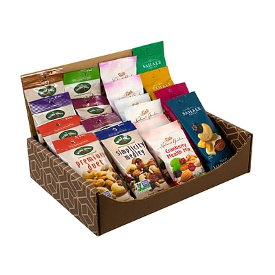 Break Box, Healthy Mixed Nuts Snack Box, 18/Box (700-00046)