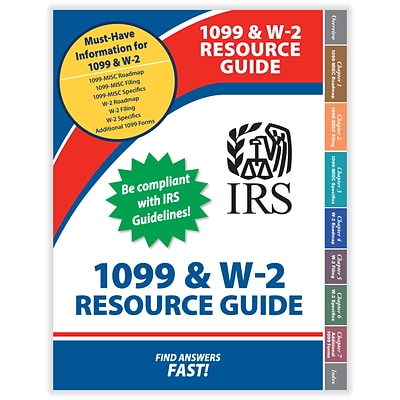 ComplyRight™ 1099 and W-2 Resource Guide Book (7060BB)