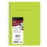 2019 Brown Trout 6.5 x 9 Weekly Planner, FranklinCovey Classic, Lime Green (978-1-4650-7962-6)