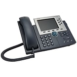 Cisco Unified IP Phone CP-7965G-RF Corded, Silver/Dark Gray