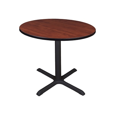 Regency Cain Breakroom Table, 42D x 42W, Cherry (TB42RNDCH)
